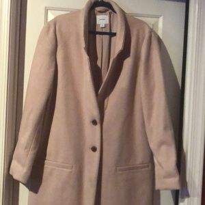 Beautiful camel color trenchcoat